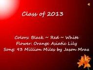 Class of 2013 Presentation.pdf - Meade School District