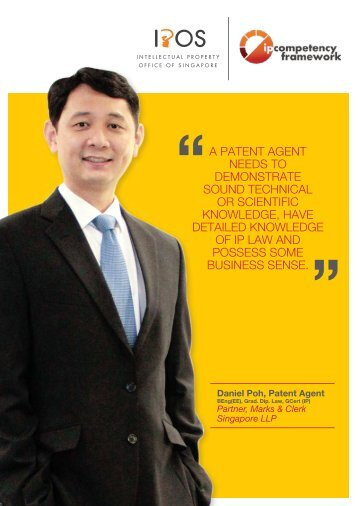 The Patent Agent - Intellectual Property Office of Singapore
