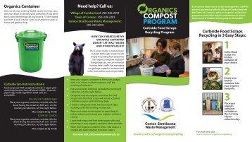 Organics Composting Brochure - Comox Strathcona Waste ...
