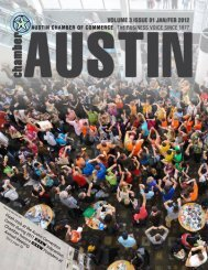 January 2012 - The Greater Austin Chamber of Commerce