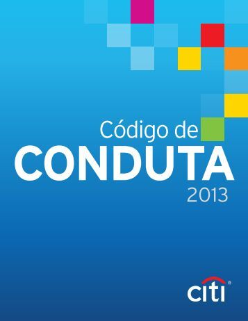 Códigode Conduta - Citigroup