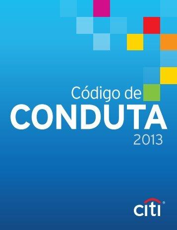 Códigode Conduta - Citigroup