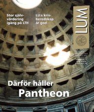 LUM nr 1 - 28 januari (PDF 1 MB - Nytt fönster) - Humanekologi ...