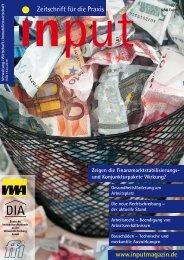 input - Zeitschrift für die Praxis Ausgabe 02/2009 - DIA