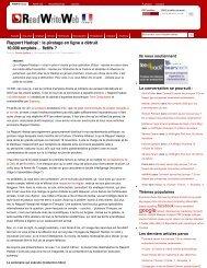 Le Rapport Hadopi, Intox - z