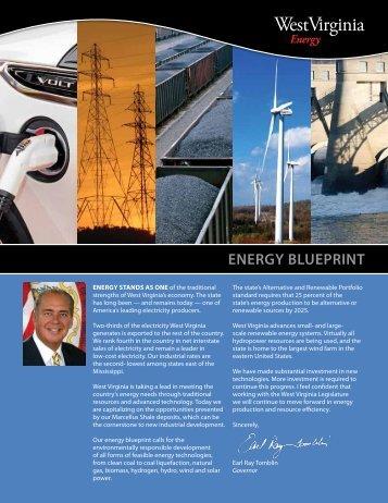 ENERGY BLUEPRINT - West Virginia Department of Commerce