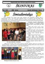 2008-03,Nr.43 - Bagaslaviškio Igno Šeiniaus pagrindinė mokykla