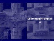 Formati grafici: jpeg - Circe - Università IUAV di Venezia