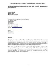Establishement of appropriate slurry seal design ... - Aapaq.org