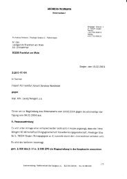Schreiben von Herrn RA Andreas Widmann an ... - Wengert Gruppe