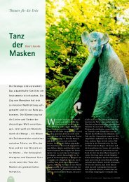 Tanz der Masken - Hagia Chora Journal