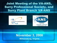 November 3, 2008 Update - Local Sections - American Nuclear ...
