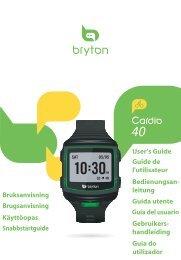 User's Guide Guide de l'utilisateur Bedienungsan ... - La Casa del GPS