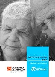 1 memoria de actividades 2.011 - Fundación Rey Ardid