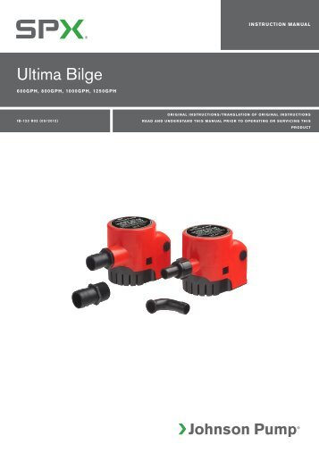 Ultima Bilge - Johnson Pump