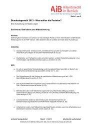 Mitbestimmung und Betriebsrat - Bund-Verlag GmbH