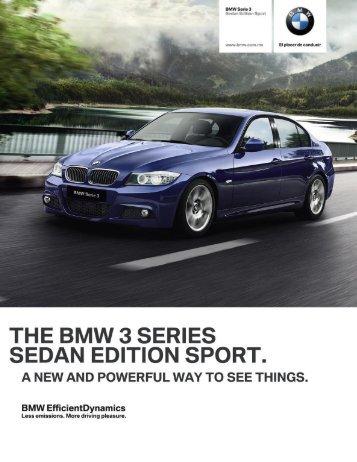 325iA Edition Sport - BMW