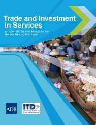 An ADB-ITD Training Module for the Greater Mekong ... - mipan