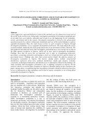 Investigative Journalism, Corruption And ... - Transcampus.org