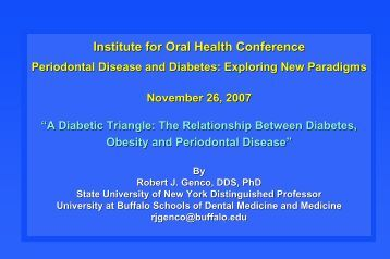 PPT (2 MB) - Institute for Oral Health
