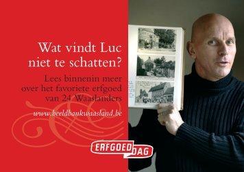 24 portretten - Erfgoedcel Waasland
