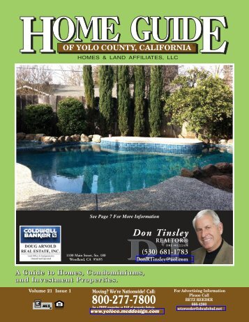 Don Tinsley REALTOR - Home Guide of Yolo County, CA