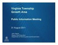 Virginia Public Meeting presentation 31 August 2011