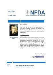NFDA NEWS 10 May 2013 - Retail Motor Industry Federation