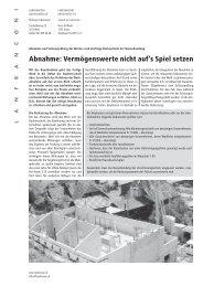 Abnahme und Schlussprüfung - Www3.datacomm.ch