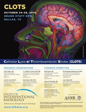 CLOTS - Society Of Interventional Radiology