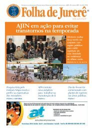 AJIN em ação para evitar transtornos na temporada - Ajin.org.br