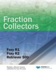 Fraction Collectors Brochure - Isco