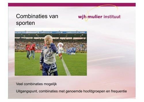Remko van den Dool - Het onderscheiden van sporters