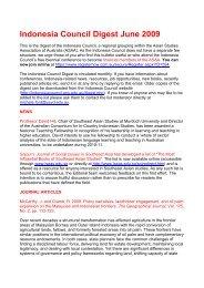 June - Asian Studies Association of Australia