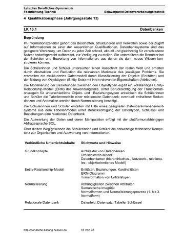Datenbanken - Willkommen auf dem Materialienserver der Ludwig ...
