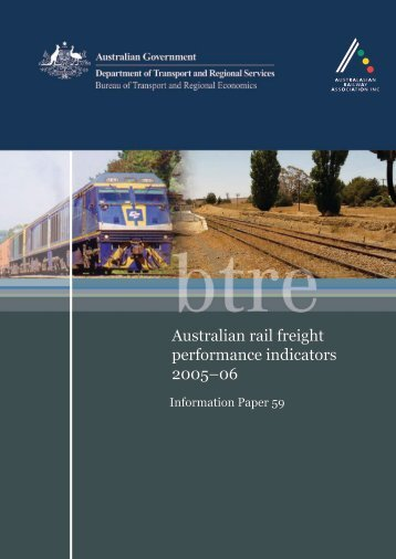 PDF: 2547 KB - Bureau of Infrastructure, Transport and Regional ...