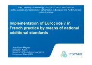 Implementation of Eurocode 7 in French practice ... - Geo-Engineering