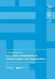 A Roadmap for U.S.-China Collaboration on Carbon ... - Asia Society