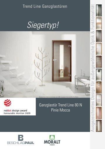 Trendline Ganzglastüren - Beschlag Paul GmbH