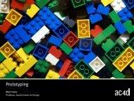 Prototyping - AC4D Design Library - Austin Center for Design