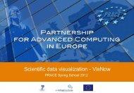 Scientific data visualization - VisNow - Prace Training Portal