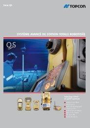 système avancé de station totale robotisée - Topcon Positioning