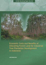 Economic Costs and Benefits of Allocating Forest Land for Industrial ...