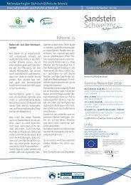 SandsteinSchweizer Nr. 15 - Nationalpark Sächsische Schweiz