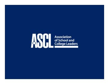 Policy and Legislation - Association of School & College Leaders