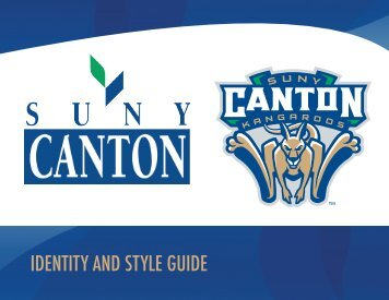 IDENTITY AND STYLE GUIDE - SUNY Canton