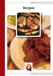 Recipe Book - ProQ BBQ Cold Water Barbeques / Smokers