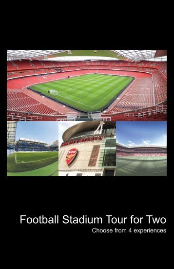 Football Stadium Tour for Two - Virgin Experience Days