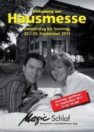 25. September 2011 - Magic Schlaf