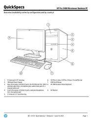 HP Pro 3330 Microtower PC